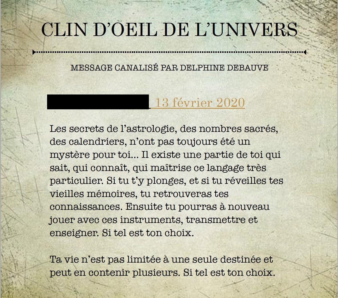 Exemple Texte Sacré de Guérison